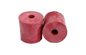 CORK STOPPER RUBBER ONE HOLE