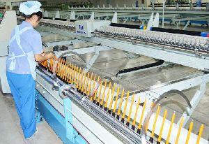 Servo Controlled Tangential Belt Mule Spinning Machine YZJ-1 02
