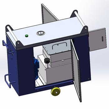Spindle Cleaning Refueling Machine 02