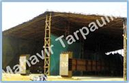 Temporary construction Sheds/Fabrication workshop
