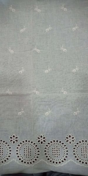 Cotton Embroidered Fabric 03