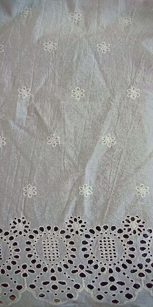 Cotton Embroidered Fabric 07