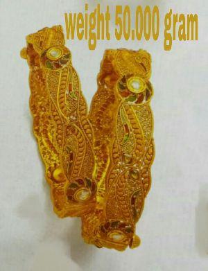 Gold Bangle 02