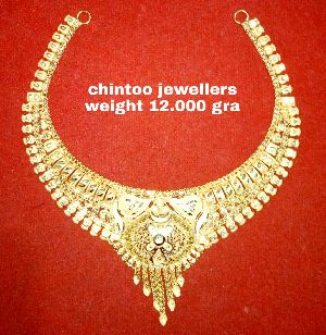 Gold Necklace Set 08