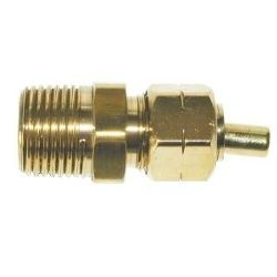 BRASS ADAPTOR WITH INSERT