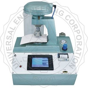 Paper Bursting Strength Tester Touch Screen Controlled