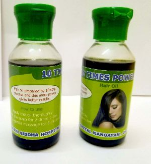 10 Times Power Hair Oil