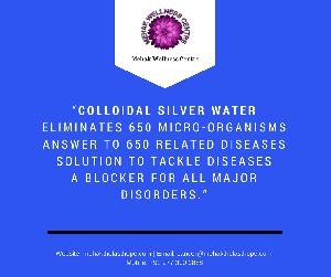 13A CSW Colloidal Silver Ionized Water