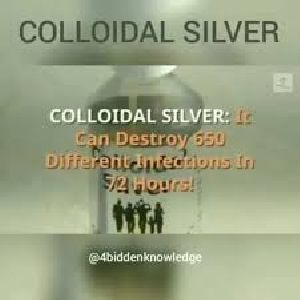 13D CSW Colloidal Silver Ionized Water