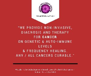 Cancer Specialist Non-Invasive  Diagnosis & Therapy