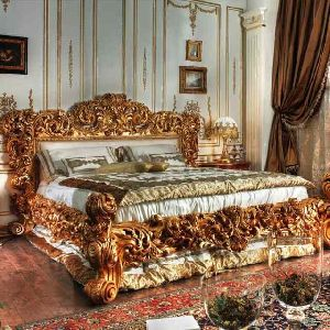 Wooden Bed 01