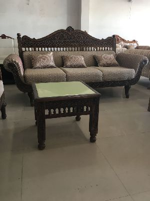 Wooden Sofa Set 05