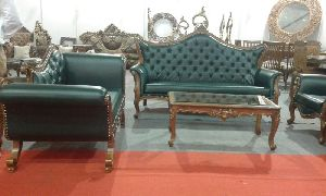 Wooden Sofa Set 08