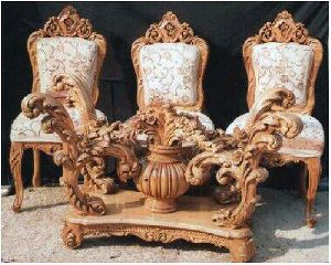 Wooden Sofa Set 10