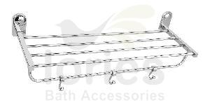 Stainless Steel Deluxe Towel Rack