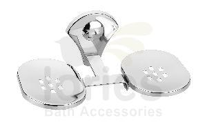 Stainless Steel Royal Double Soap Dish