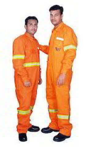Orange Safety Dangri