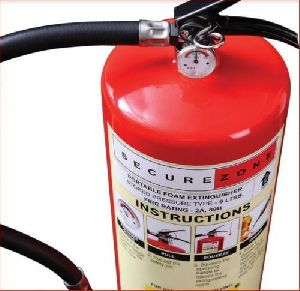 Secure Zone Foam Based Fire Extinguisher