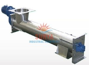 Industrial Flexible Screw Conveyor Systems