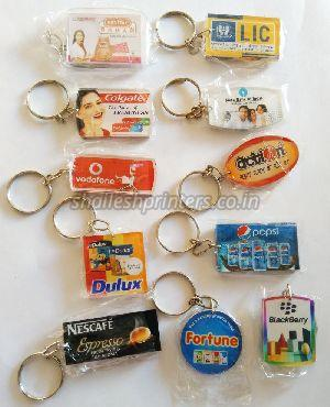 Acrylic Digital Photo Keychain