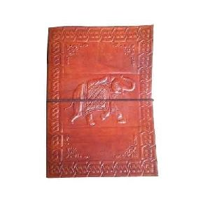 Embossed Leather Diary