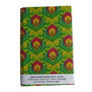 Block Print Handmade Notebook