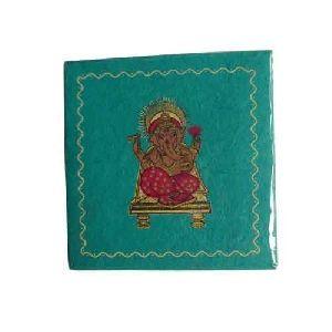 Handmade Ganesha Print Photo Album