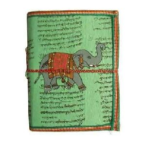Rajasthani Printed Cover Leather Diary