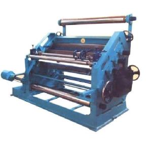 High Speed Single Paper Corrugation Machine