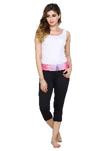 Ladies Dri Fit Capri Pants
