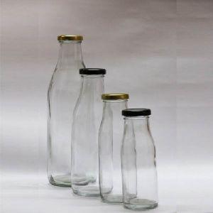 Milk Glass Bottles