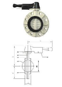 Butterfly Valves Flange End