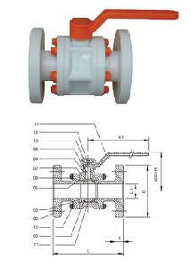 Ball Valves flange end