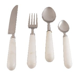 Marble Cutlery Set