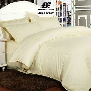 Cream Color Plain Bed Sheet