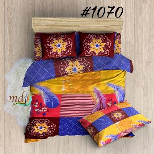 Design Printed Poly Cotton Bed Sheets