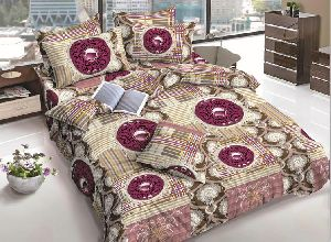 Mutlicolor Designer Cotton Bed Sheets