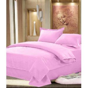 Purple Color Plain Bed Sheet