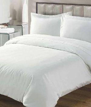 White Color Plain Bed Sheet