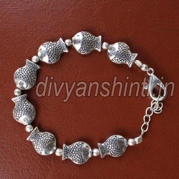 Antique Fish Bracelet