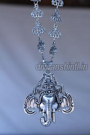 Antique Ganesh Pendant 02