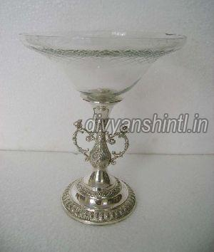 Glass Candle Stand 03