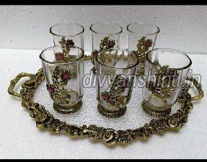 Glass Tray Set 02