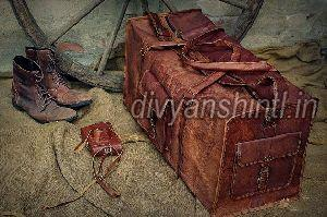 Leather Luggage Bag 02