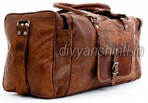 Leather Luggage Bag 01