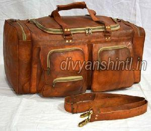 Leather Luggage Bag 03