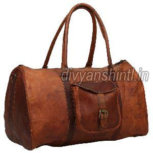 Leather Luggage Bag 04