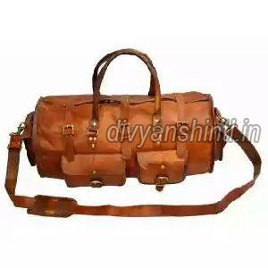 Leather Luggage Bag 05