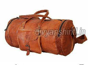 Leather Luggage Bag 06