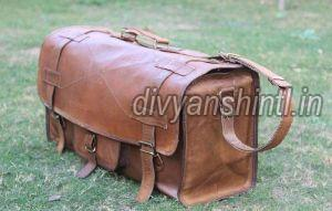 Leather Luggage Bag 07